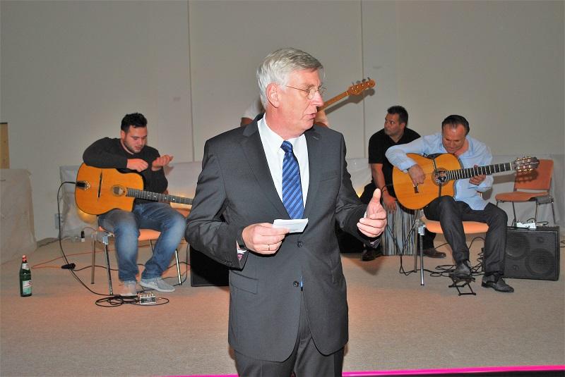 Der KiK e.V. Vorsitzende Dr. Ingo Wolf
